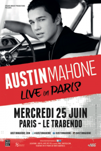 Austin Mahone concert Paris