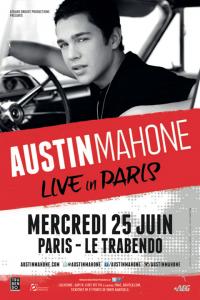 Austin Mahone concert Paris