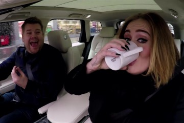 Adele Carpool Karaoke James Corden