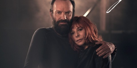 Mylène Farmer Sting stolen car