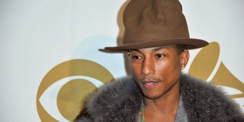 PHARRELL WILLIAMS NMA 2014 - AZIKMUT