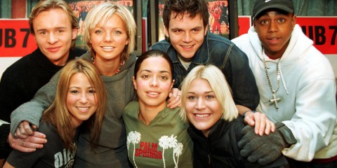 POP BAND S CLUB 7