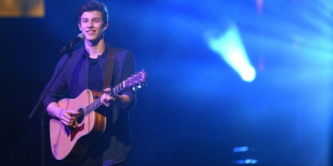 Shawn Mendes concours handwritten
