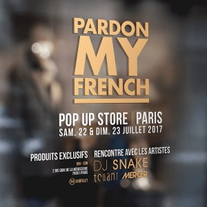 Rencontre DJ Snake à son pop up store Pardon My French