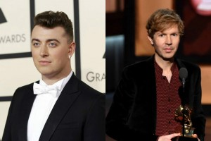 grammy awards 2015 sam smith beck