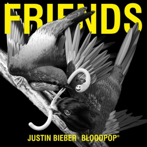 justin bieber friends bloodpop single featuring