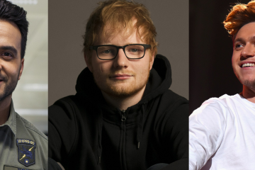 luis fonsi niall horan ed sheeran playlist été 2017